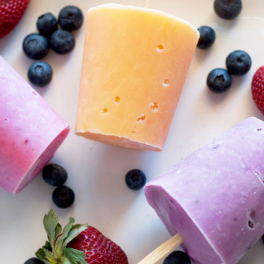 Yogurt pops from the healthy snack experts at Stepping Stone Pediatrics